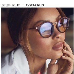 Quay Bluelight Gotta Run Glasses